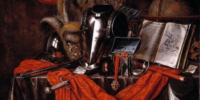 Vanitas, 1669 (Evert Collier, Wikimedia)