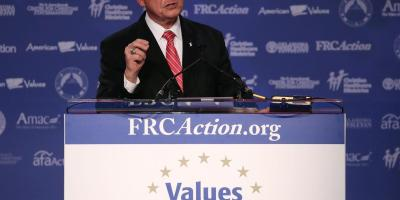 Roy Moore at the Values Voter Summit (Mark Wilson, Getty Images)