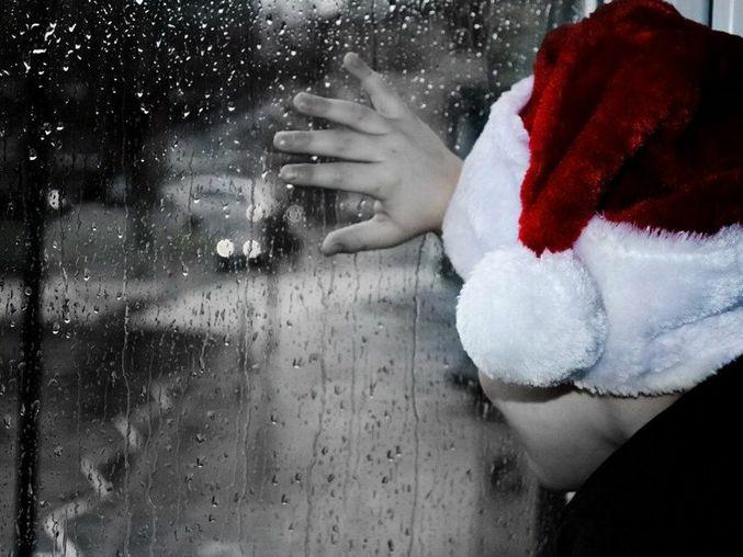 Rainy Christmas (pixabay)
