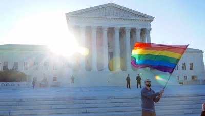 Ted Eytan, SCOTUS April 2015 LGBTQ, 2015, (Source: flickr)