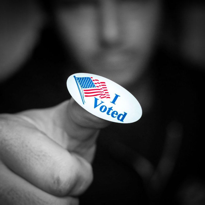 I Voted Sticker (Casey Robertson, Unsplash)
