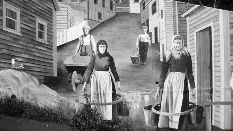 Mural painting of village workers (Pixabay)